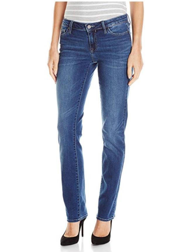 Calvin Klein 女士直通牛仔裤 30.39加元(28 32L),原价 54.29加元
