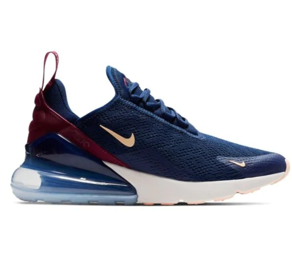 Nike Air Max 270 女士气垫运动鞋 127.5加元(7码),原价 200加元,包邮