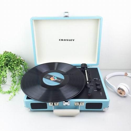 欧阳娜娜推荐!Crosley 复古黑胶唱片机 7.5折优惠!