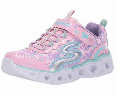 Skechers女童爱心灯运动鞋 31.76加元起(5色可选),原价 58.11加元
