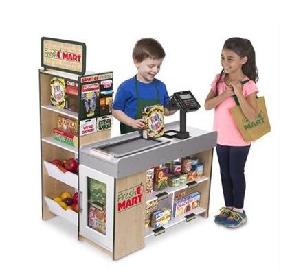精选 Melissa & Doug 天然实木玩具、益智玩具、过家家玩具、画架等 8折优惠!
