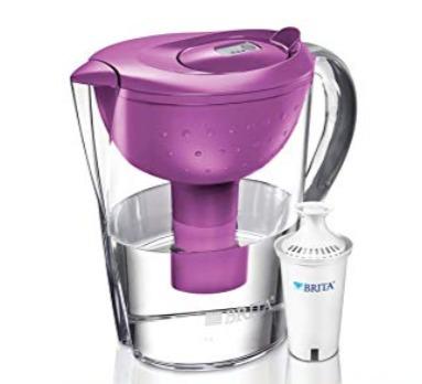 Brita Pacifica 10杯家用滤水壶 26.97加元(3色),原价 37.47加元