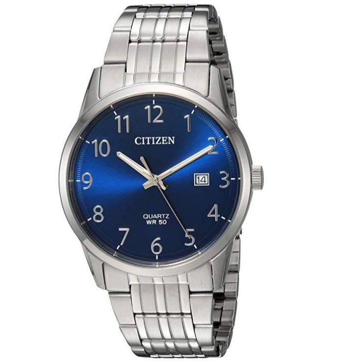 Citizen西铁城 BI5000-52L男士石英腕表 70.62加元,原价 122.5加元,包邮