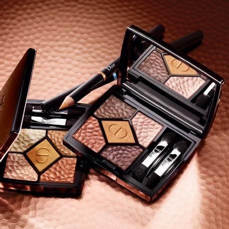 新款 Dior 迪奥 5 Coulerus 夏季限量版5色眼影盘8.5折 62.9加元包邮!
