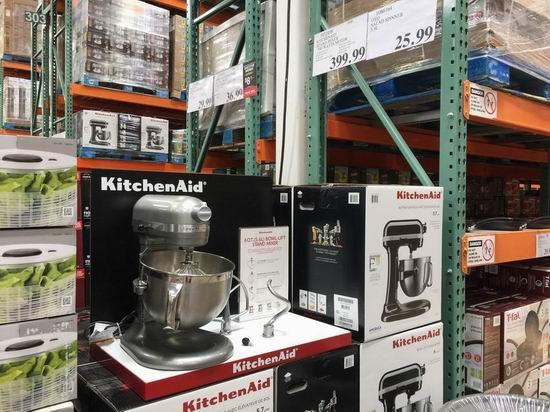 KitchenAid KL26M1XCMER 6夸脱575瓦超大功率 立式多功能搅拌厨师机+烤盘2件套4.8折 295.94加元包邮!比Costco店内便宜110加元!