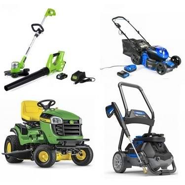 父亲节大促!精选多款 WORX、Kobalt、CRAFTSMAN 等品牌割草机、修边机、高压清洗机、吹扫机等5折起!