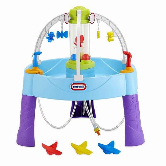 历史新低!Little Tikes 小泰克 Fun Zone Battle 水仗 儿童戏水桌4.5折 49.95加元包邮!