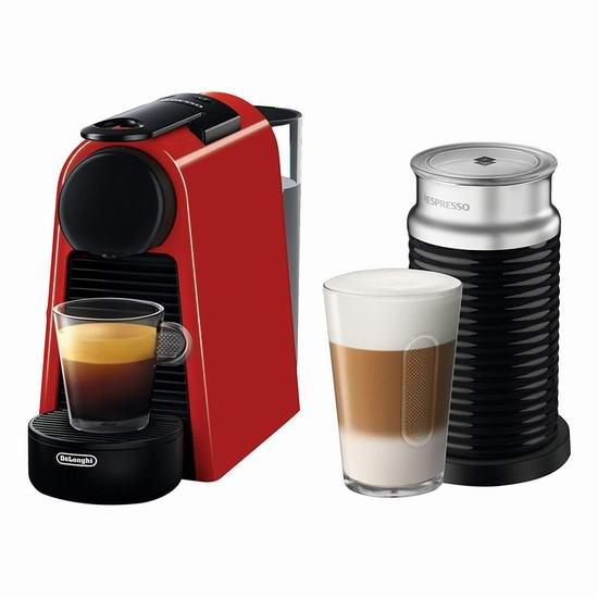 Delonghi 德龙 NESPRESSO Essenza 迷你胶囊咖啡机+Aeroccino奶泡机 169.99加元包邮!单件咖啡机99.99!