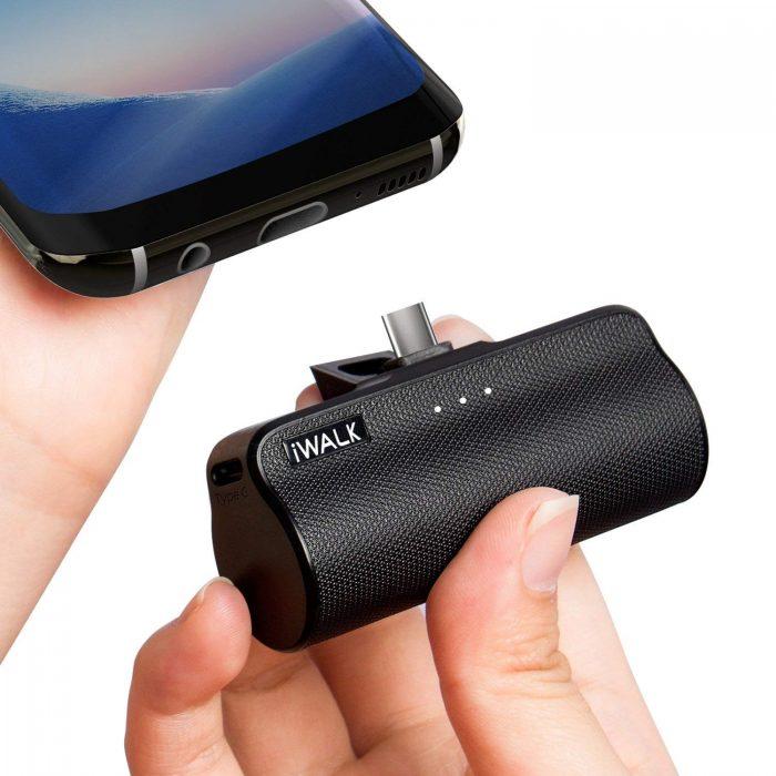 iWALK 3300mAh 超迷你USB C手机移动电源/充电宝 20.39加元限量特卖!2色可选!