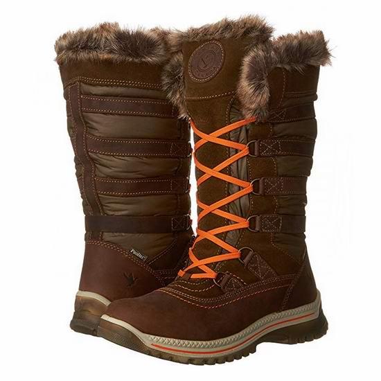 白菜价!Santana Canada Milani 女式雪地靴(7码)2折 57.42加元包邮!