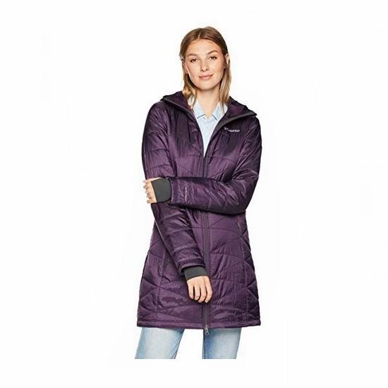 白菜价!Columbia Mighty Lite Hooded 女式连帽防寒服3.2折 55.36加元起包邮!多色可选!