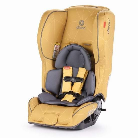 Diono 谛欧诺 rainier 2 AX 成长型儿童汽车安全座椅 282加元包邮!5色可选!