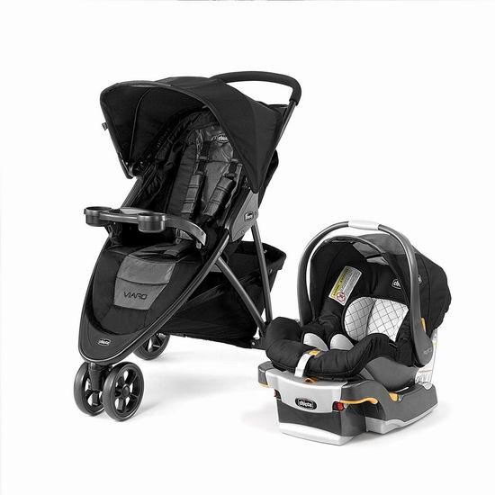 历史最低价!Chicco 智高 Viaro 婴儿推车+安全提篮 旅行套装6.6折 399.99加元包邮!