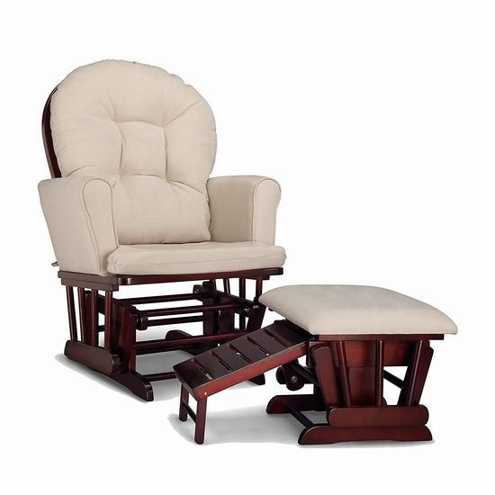 历史新低!Graco Parker 舒适软垫躺椅/妈妈椅/哺乳椅6.3折 219.97加元包邮!3色可选!