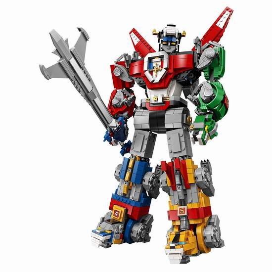 霸气十足!Lego 乐高 21311 百变创意系列 百兽王/战神金刚(2321pcs) 183.89加元包邮!