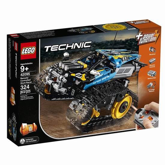 历史新低!LEGO 乐高 42095 遥控特技赛车7.1折 99.99加元包邮!