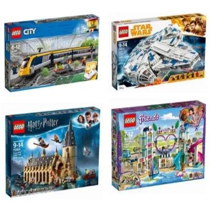 精选 Lego 乐高积木玩具全场8折,低至3.39加元+包邮!