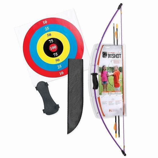 历史新低!Bear Archery 1st Shot 儿童弓箭套装6折 26.11加元!