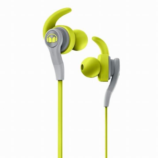 白菜速抢!历史新低!Monster 魔声 MH ISRT CMPT IE GR CU WW 运动耳机2.1折 12.99加元清仓!