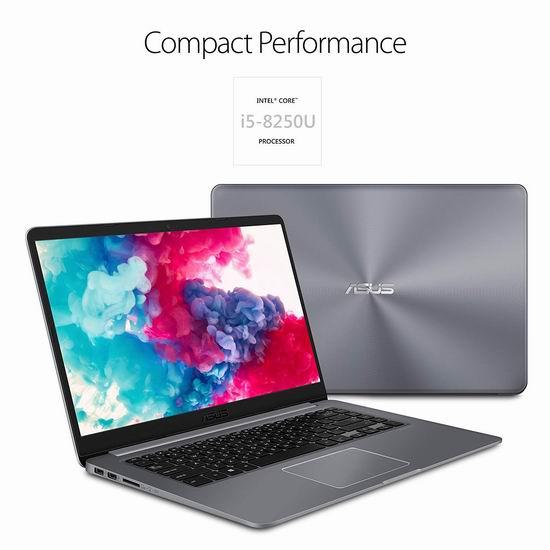 金盒头条:历史新低!Asus 华硕 VivoBook 15.6寸超轻薄笔记本电脑(Core i5, 8GB, 128GB SSD+1TB) 631.99加元包邮!