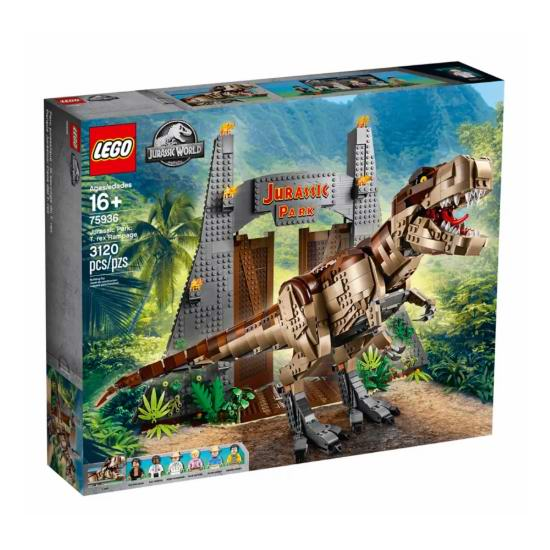 2019 新款 LEGO 乐高 75936 侏罗纪世界:侏罗纪公园霸王龙(3120pcs) 299.99加元  7月1日开售!