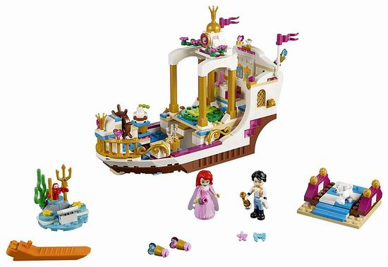 历史新低!LEGO 乐高 41153 迪士尼 美人鱼爱丽儿的皇家庆典船(380pcs)6折 39加元包邮!