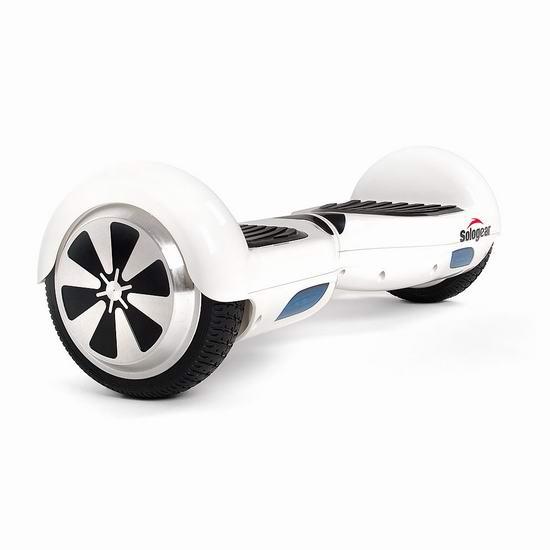 白菜价!Sologear SOLO S1 电动双轮平衡车 119.5加元包邮!2色可选!