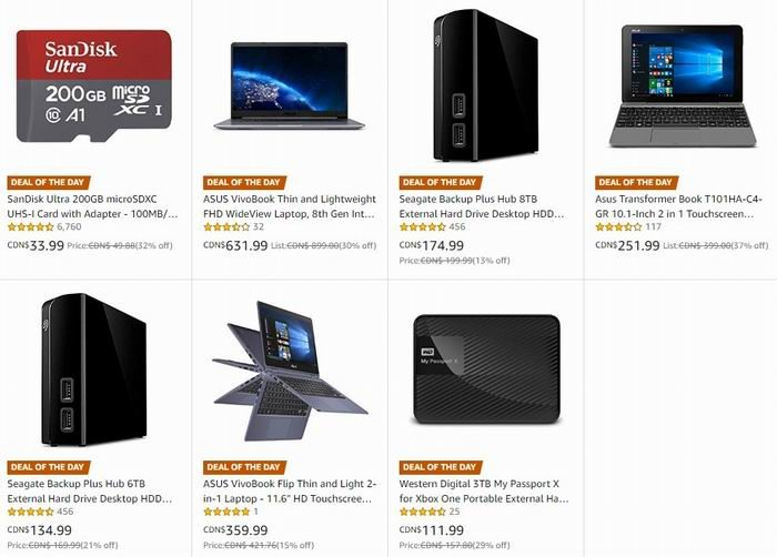 金盒头条:精选多款 ASUS、Seagate、SanDisk、WD 等品牌笔记本电脑、移动硬盘、闪存卡等6.3折起!