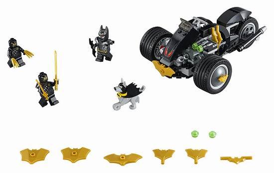 历史最低价!Lego 乐高 76110 蝙蝠侠大战利爪军团(155pcs)5.6折 14加元!
