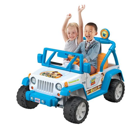 闪购!Mattel 迪士尼儿童电动敞篷越野车 319.99加元,原价 399.99加元,包邮