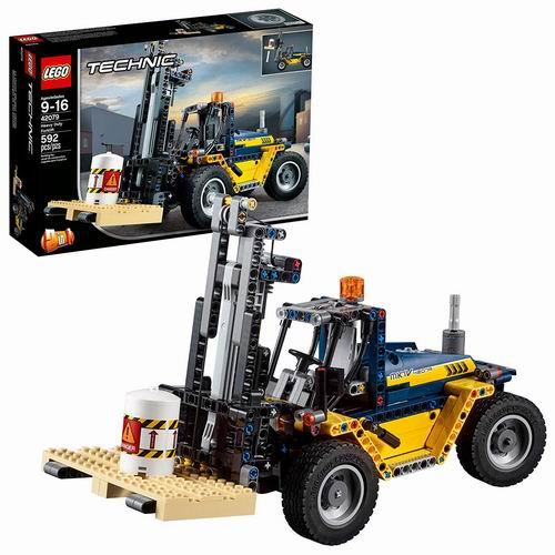 历史最低价!LEGO 乐高 Technic 机械组系列 42079 重型叉车 49.99加元,原价 89.99加元,包邮