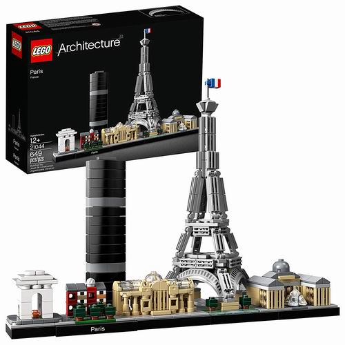 新款 LEGO 乐高 21044 建筑系列 巴黎天际线 55.89加元,原价 69.86加元,包邮