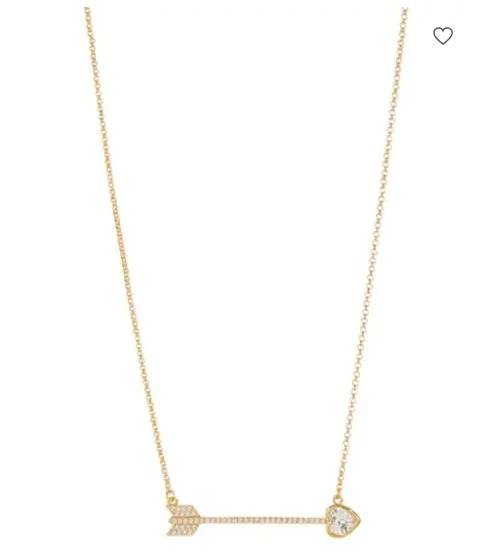 Kate Spade精美耳钉、珍珠项链、爱神箭吊坠项链 6折 23加元起+全场包邮!