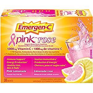 增加机体抵抗力! Emergen-C 维他命C冲剂 10.44加元,多种口味可选!