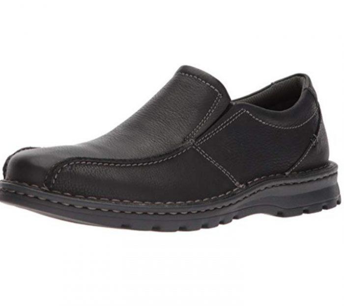 Clarks Vanek Step男士乐福鞋 59.99加元,原价 116.82加元,包邮