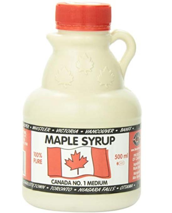 L B Maple Treat Canada #1 枫糖浆500毫升 12.16加元,原价 18.56加元