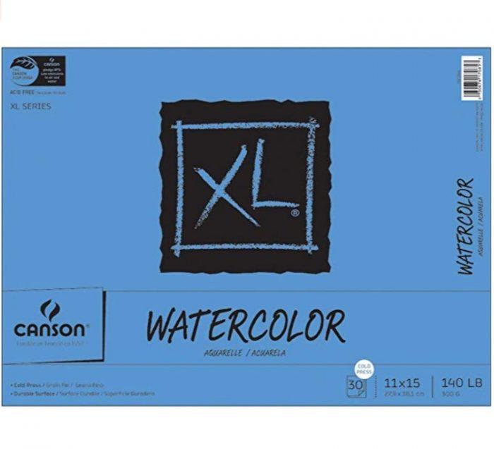 Canson XL素描纸写生绘画本 30张 12.88加元,原价 18加元