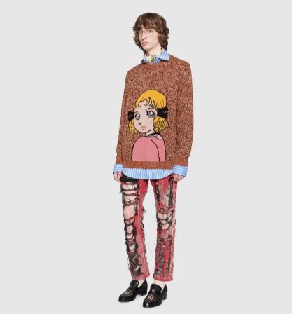 Gucci 精选男士毛衣、T恤、太阳镜、运动鞋 3.7折起优惠!封面款毛衣882加元!太阳镜低至163加元!