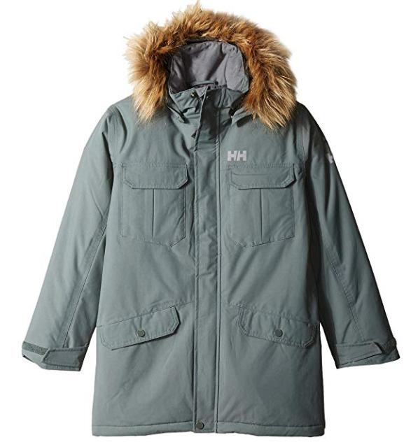 Helly Hansen 儿童冬季派克大衣 59.36加元(16码),原价 196.33加元,包邮