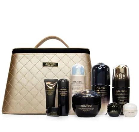 Shiseido 资生堂 Future Solution Lx 高效修护 奢华冻龄系列 抗衰老10件套超值装 945加元(原价 1050加元)+ 送价值170加元大礼包+淡斑遮瑕精华!