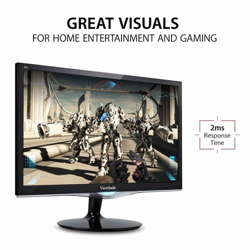 ViewSonic VX2452MH 24英寸游戏显示器 159.94加元,原价 323加元,包邮