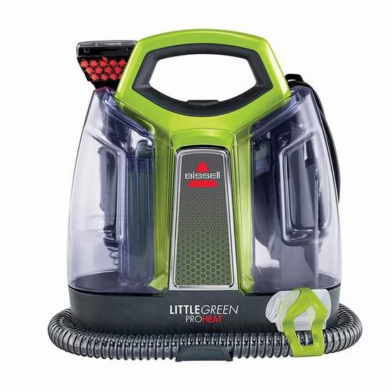 销量冠军!新品 Bissell 必胜 2513E Little Green 小绿 便携式深层地毯清洁机 99.98加元包邮!