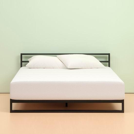 历史新低!Zinus 10英寸 绿茶记忆海绵Twin/King床垫 177.62-344.25加元包邮!
