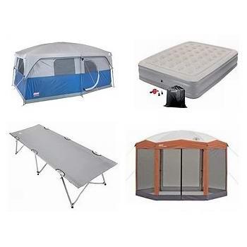 轮胎店夏日大促!精选 Coleman、Woods 等品牌帐篷、行军床、充气床垫、折叠桌椅、保温箱、便携炉等4折起!