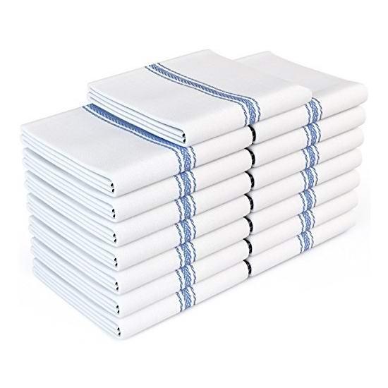 白菜价!历史新低!Royal 经典厨房纯棉毛巾12件套2.8折 9.89加元清仓!