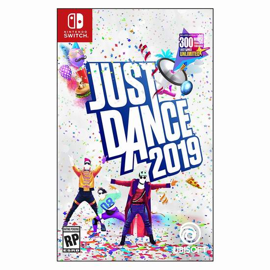 《Just Dance 舞力全开 2019》Switch /Wii /Wii U /PS4 /Xbox 360 /Xbox One版视频游戏6.7折 19.99加元