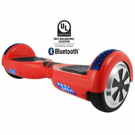 白菜价!历史新低!HOVERBIRD HBRGI1 蓝牙版电动双轮平衡车3.3折 178.06加元包邮!
