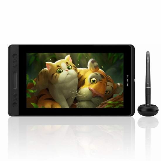 HUION 绘王 KAMVAS Pro 13 专业手绘数位屏 301.28加元限量特卖并包邮!