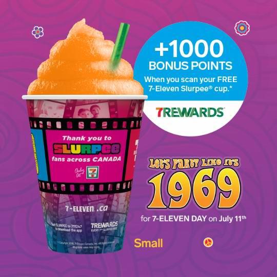 吃货速进!7-Eleven连锁店免费送Slurpee冰沙汽水!仅限今日!
