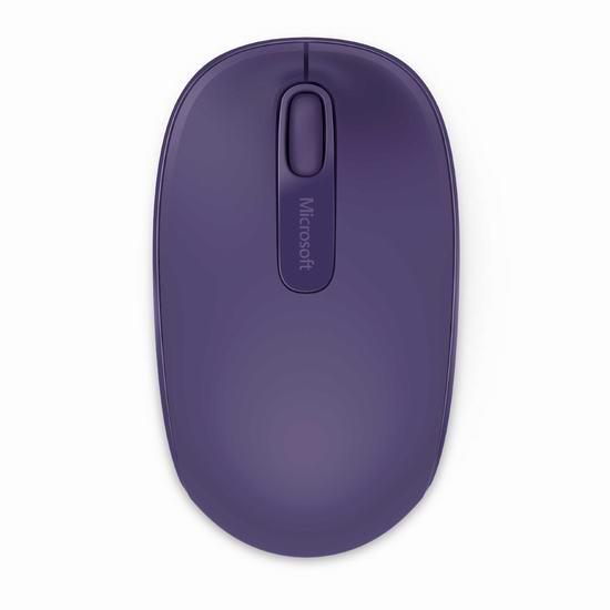 历史最低价!Microsoft 微软 1850 无线便携鼠标 9.99加元!